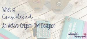 Active Origami Owl Designer