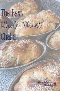 Whole Wheat Challa