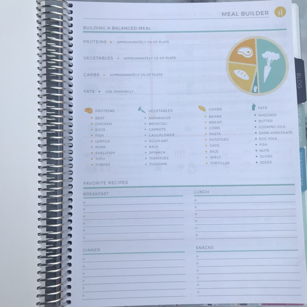 Plum Paper Meal Planning Add-On