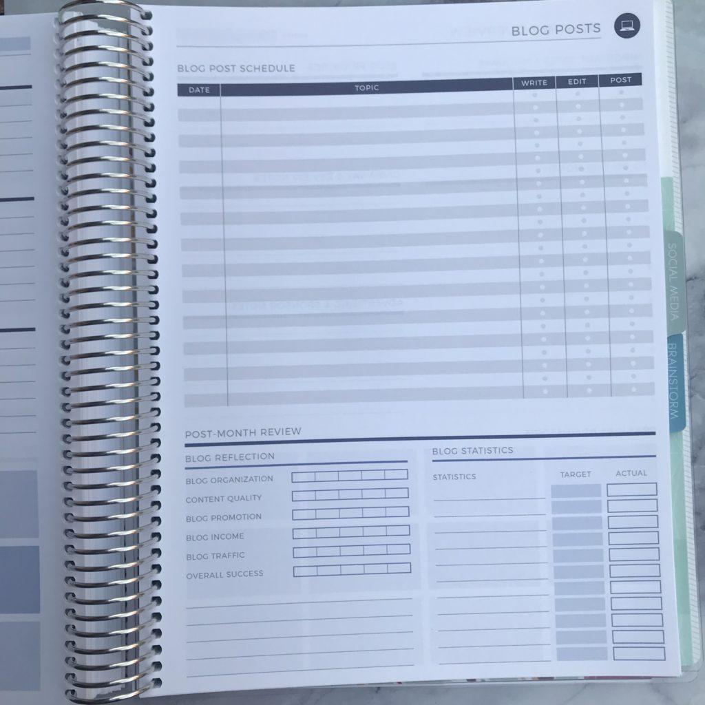 Plum Paper Blog Planning Add-on